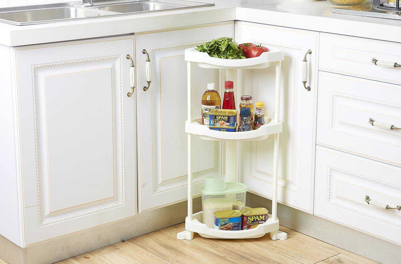 怎样才能更好的利用厨房置物架,这些安装和摆放技巧要记住