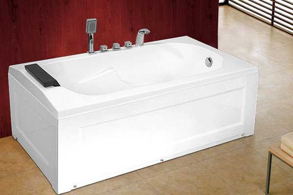 涨知识,有墙和无墙按摩浴缸的安装区别这么大