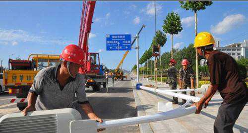 Led路灯的安装流程及施工方法