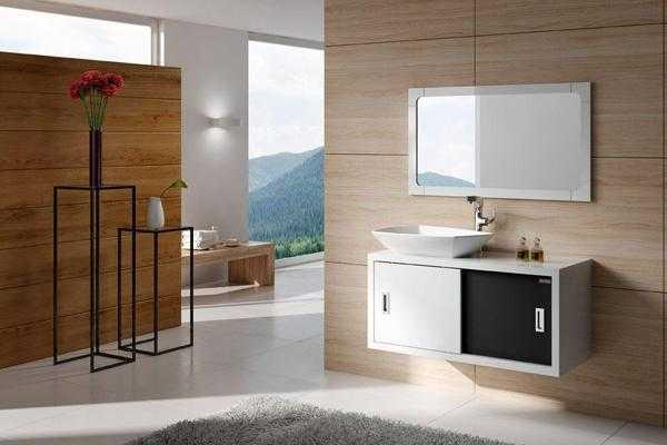 悬挂式浴室柜的安装流程及安装注意事项