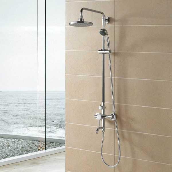 淋浴花洒的安装,淋浴花洒的安装高度