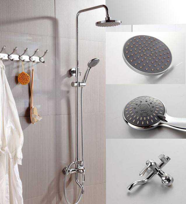 淋浴喷头安装高度多少 淋浴喷头使用注意事项