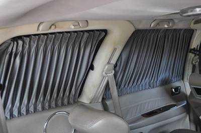 车窗帘轨道安装方法