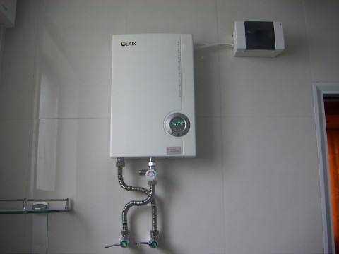 即热式电热水器安装方法
