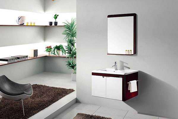 悬挂浴室柜安装流程和安装注意事项