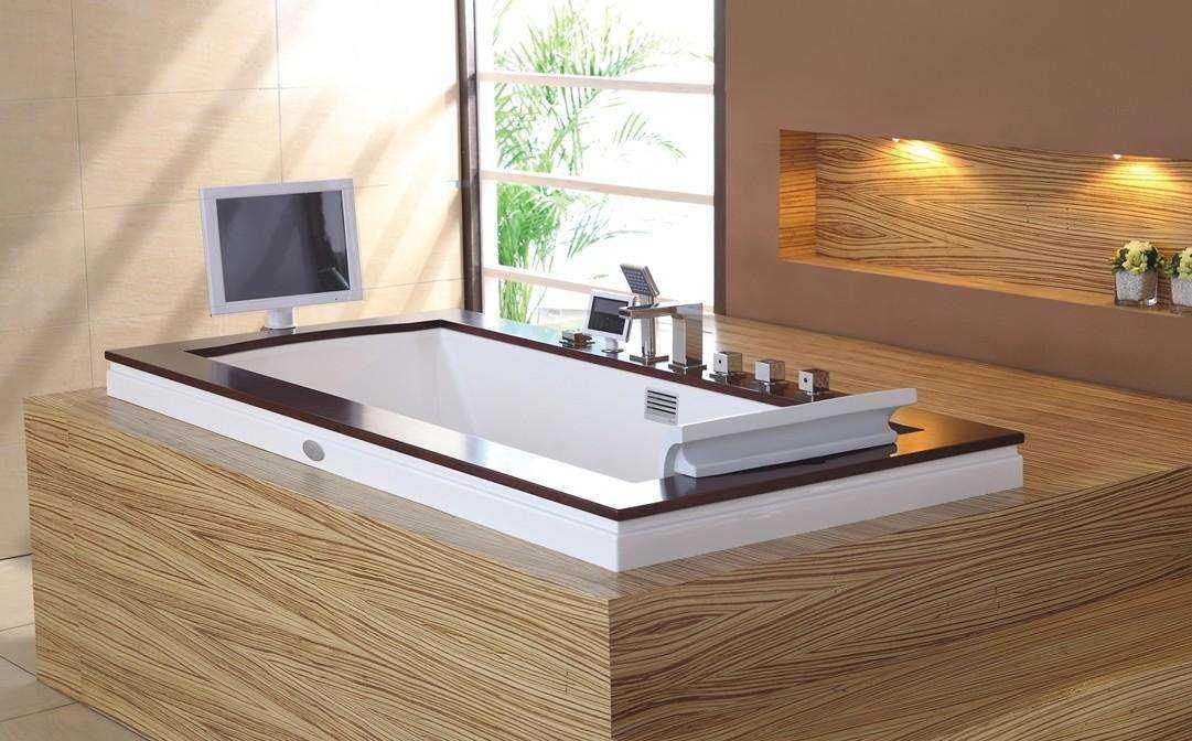 嵌入式浴缸的安装步骤