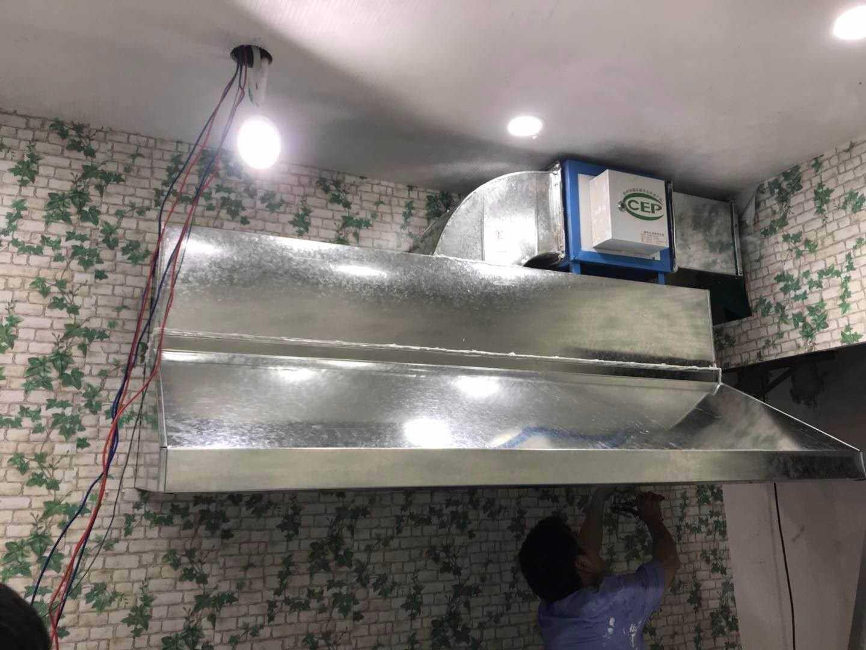 空调通风管道安装图