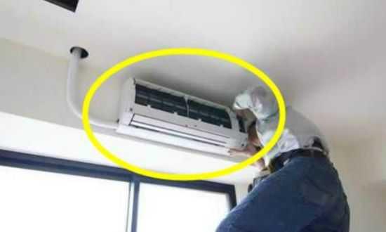 空调安装钻孔大小位置形状的注意事项