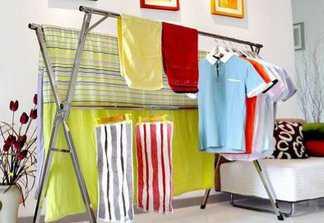 落地晾衣架安装方法—落地晾衣架怎么样安装