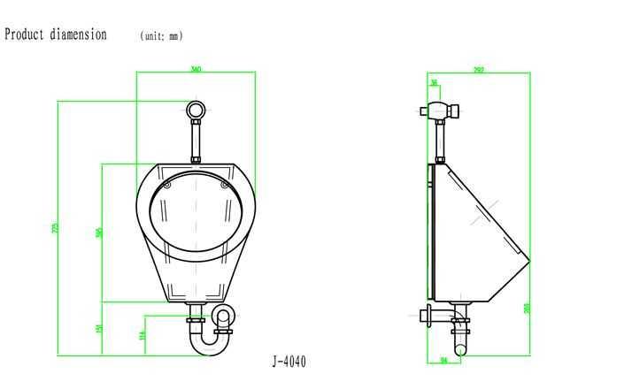 小便器安装高度及安装步骤