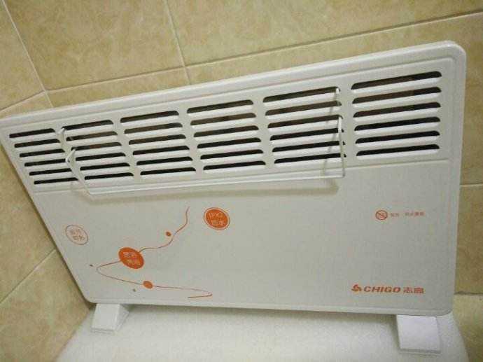 家用取暖器安装方法