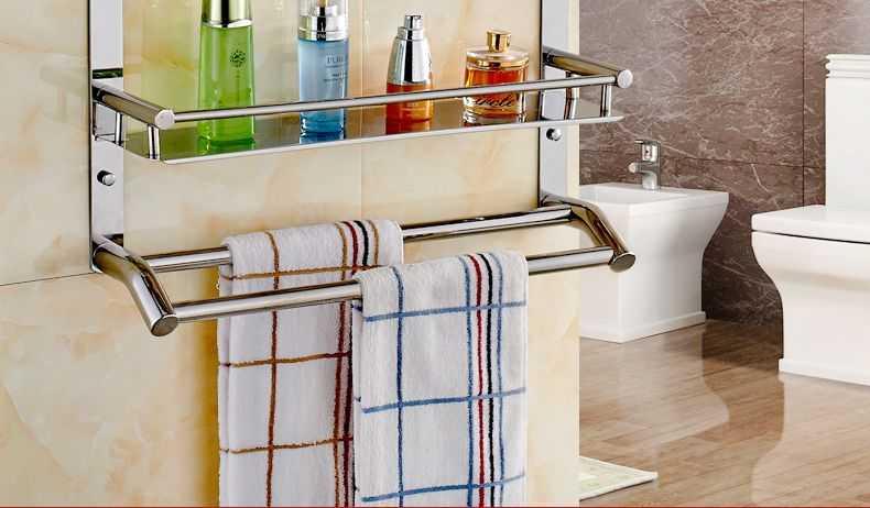 浴室置物架安装高度及注意事项