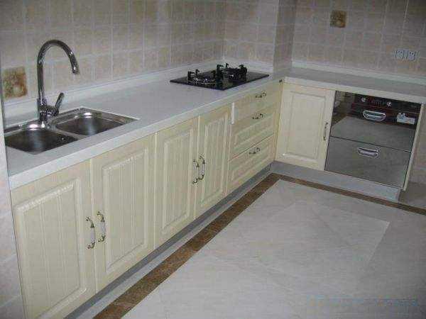 【家具安装】橱柜石英台面安装及地柜安装