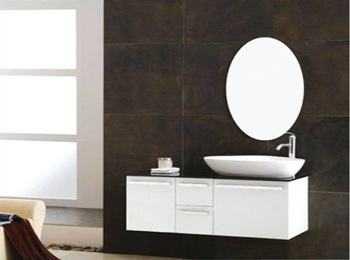卫生间是轻体墙能安装浴室柜和镜柜吗?