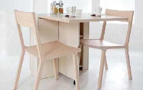 折叠餐桌安装的方法