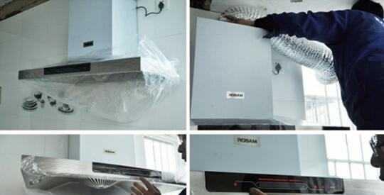 家里的油烟机怎么安装?油烟机安装方法