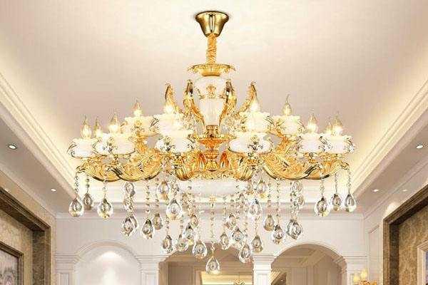 水晶灯安装,水晶吊灯安装方法