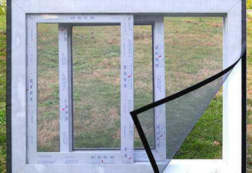 磁条纱窗安装方法和特点