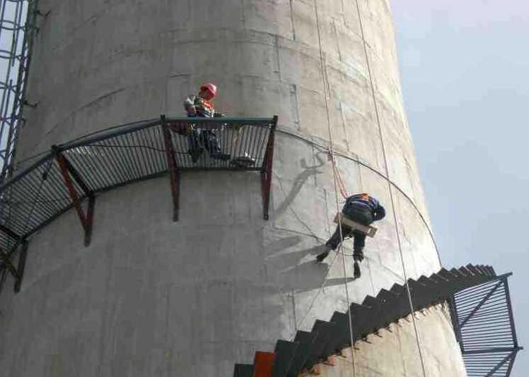 烟囱安装楼梯需要注意的细节有哪些?