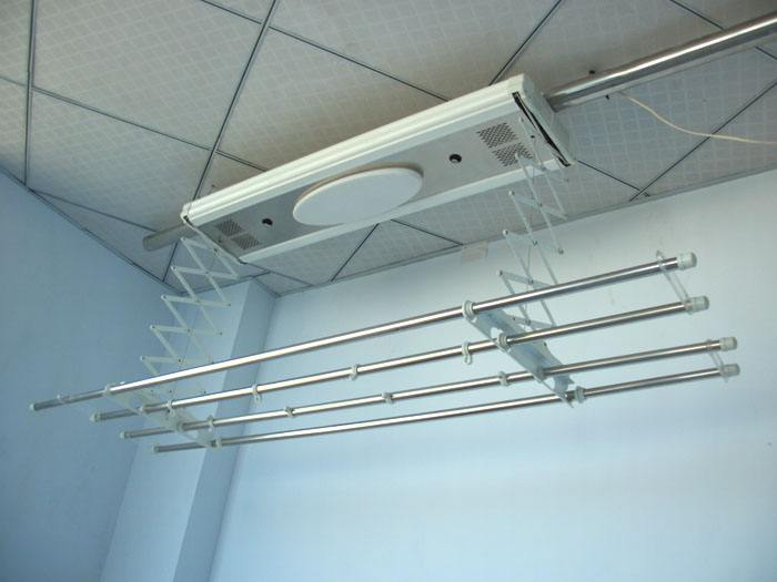 阳台晾衣架的使用注意事项及吊顶与晾衣架的安装顺序