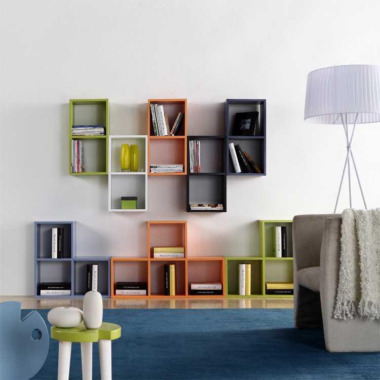 壁挂式书架怎么安装?