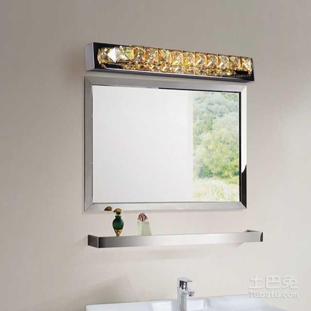 卫浴镜前灯安装方法