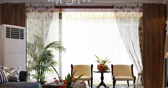 窗帘杆的安装高度应该如何确定?