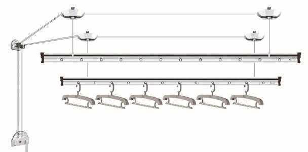 阳台晾衣架怎么安装?五个步骤轻松搞定!