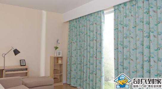 窗帘安装要注意哪些?让奇兵到家安装师傅告诉你!