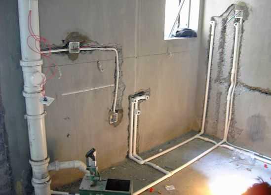 卫生间水管安装图及安装需要注意的详解