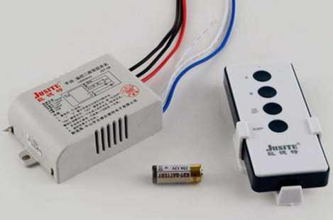 无线灯具遥控开关怎样安装