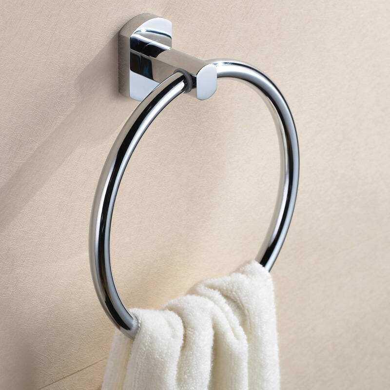 毛巾环的安装步骤及安装高度