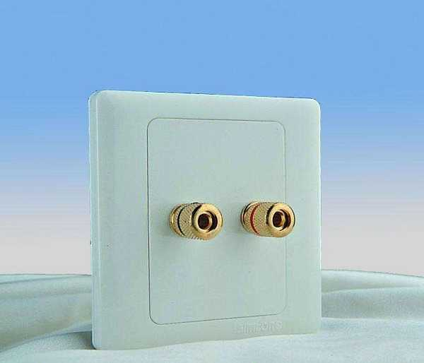 一位音响插座接线安装方法详解