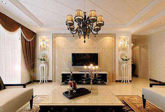 在客厅安装铜质吊灯有哪些风水禁忌?
