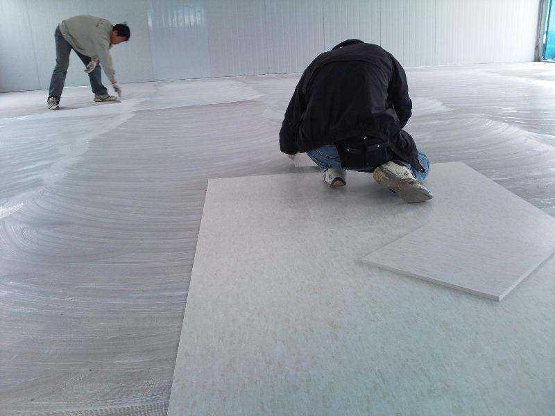 幼儿园安装塑胶地板,如何安装?