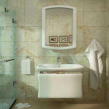节省空间小户型最爱 挂墙式洗面盆安装方法