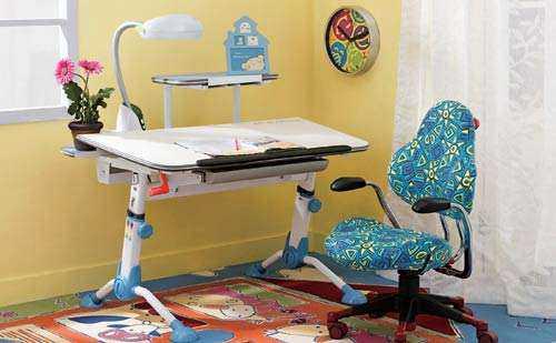 帮助孩子学习 儿童学习桌安装步骤
