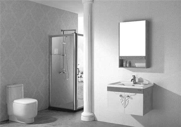 浴室柜的安装 挂墙式浴室柜安装位置