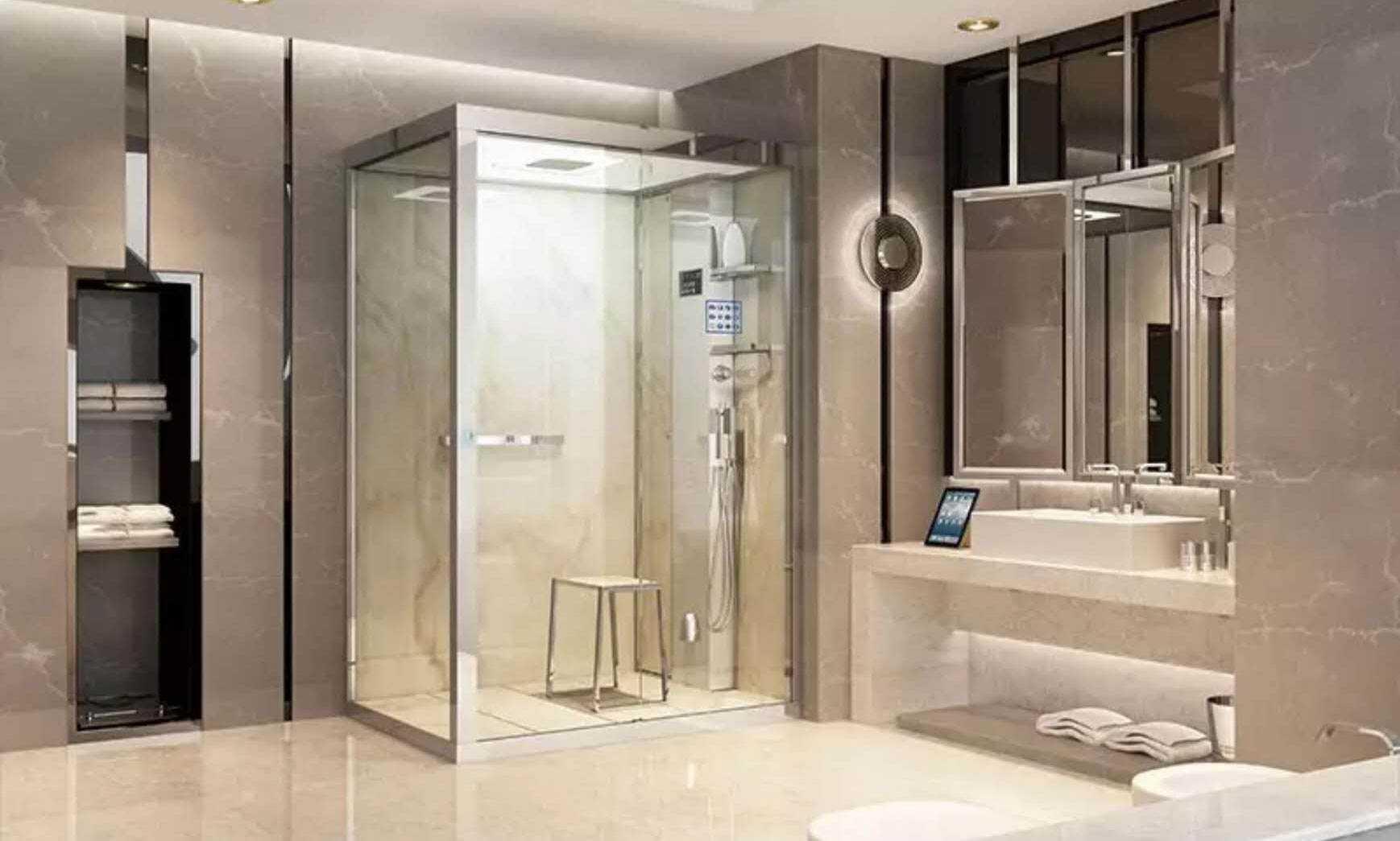 什么是智能淋浴房?和多功能淋浴房相比有哪些不同呢?