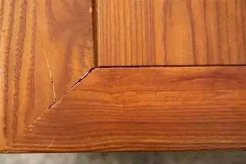 实木家具开裂原因 实木家具裂缝修补