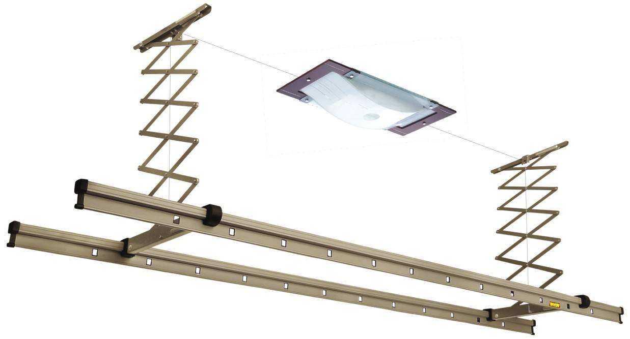 阳台晾衣架安装方法老式