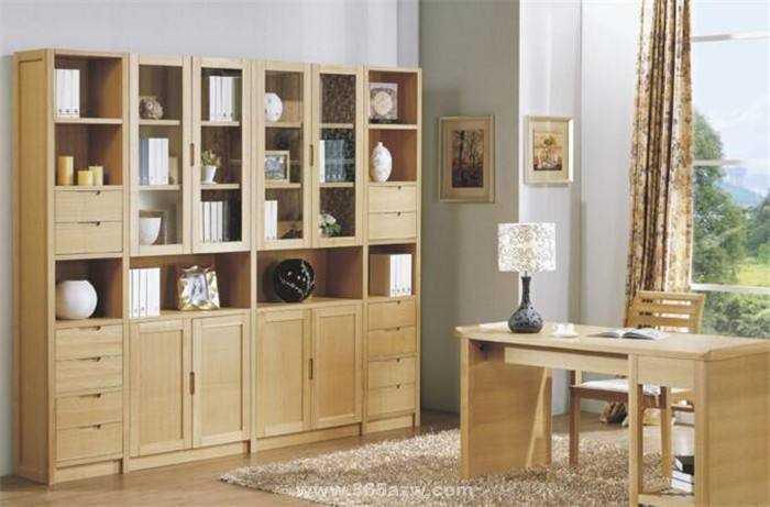 板式书柜的安装和美化