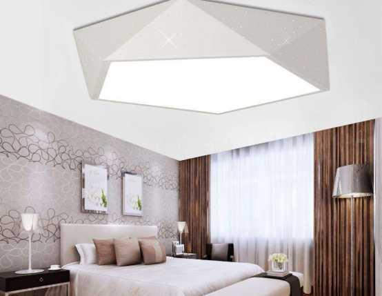 家用吸顶灯的安装方法,简单实用