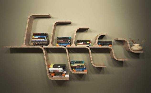 壁挂式书架该怎样安装?