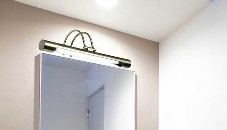 3步完成卫浴镜前灯安装