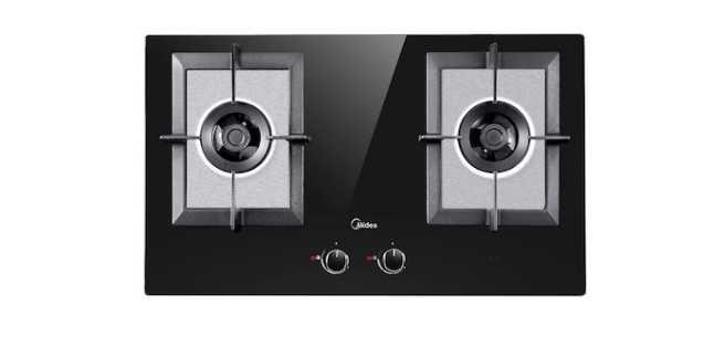 美的嵌入式燃气灶如何安装?