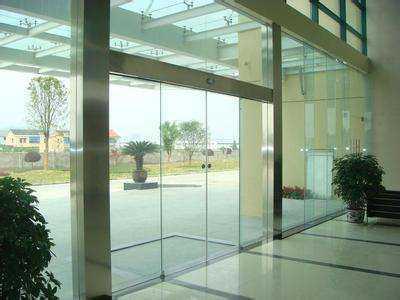 玲珑剔透更方便 自动玻璃感应门安装方法