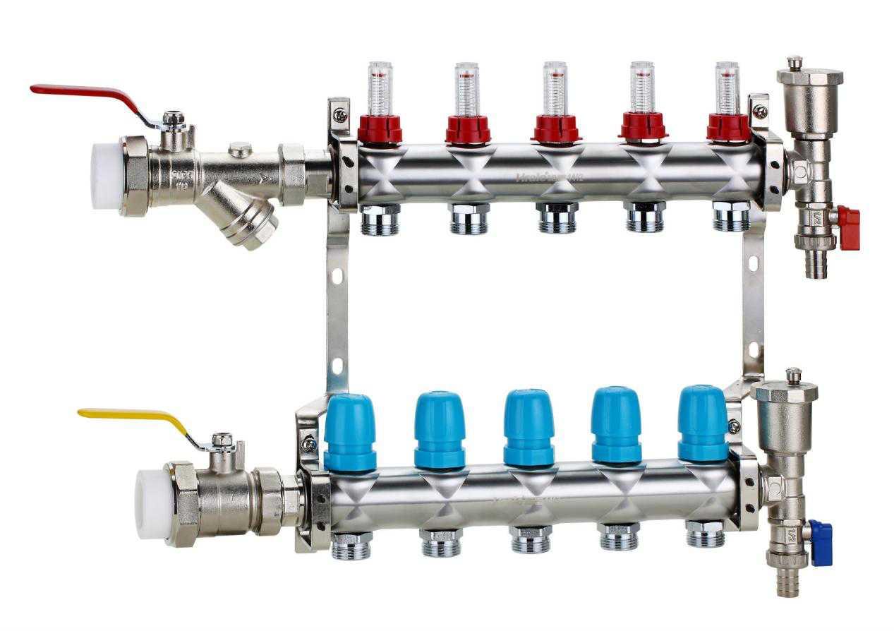 地暖分水器的安装方法,有哪些事项要注意