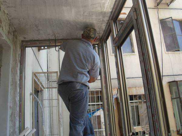 老师傅讲述铝合金窗安装的技术步骤