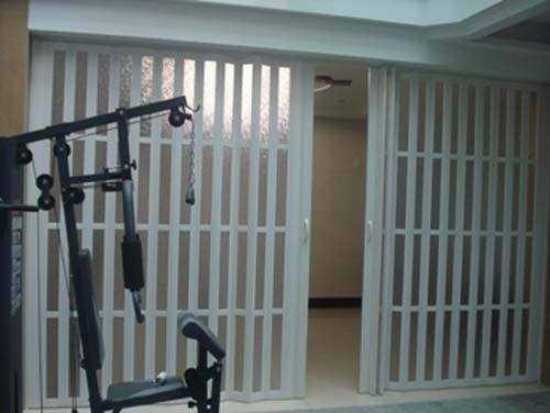 PVC折叠门安装注意事项